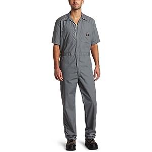 Dickies - - Hommes de travail Combinaison courte en popeline à manches