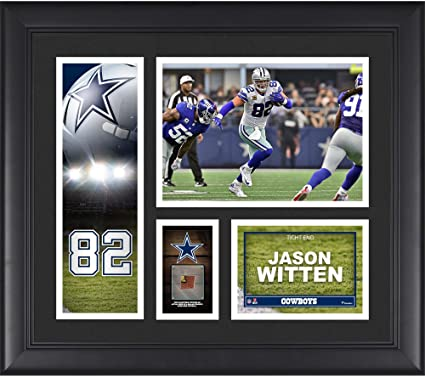 """d23baac8a54 Image Unavailable. Image not available for. Color: Jason Witten Dallas  Cowboys Framed 15"""" x ..."""