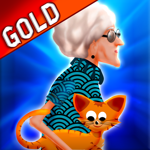 señora loca del gato: el felino divertida aventura de vuelo - Edición de Oro: Amazon.es: Appstore para Android