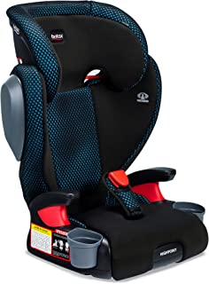 product image for Britax Highpoint 2-Stage Belt-Positioning Booster Cool Flow Ventilating Fabric Car Seat - Highback and Backless   3 Layer Impact Protection - 40 to 120 Pounds, Teal