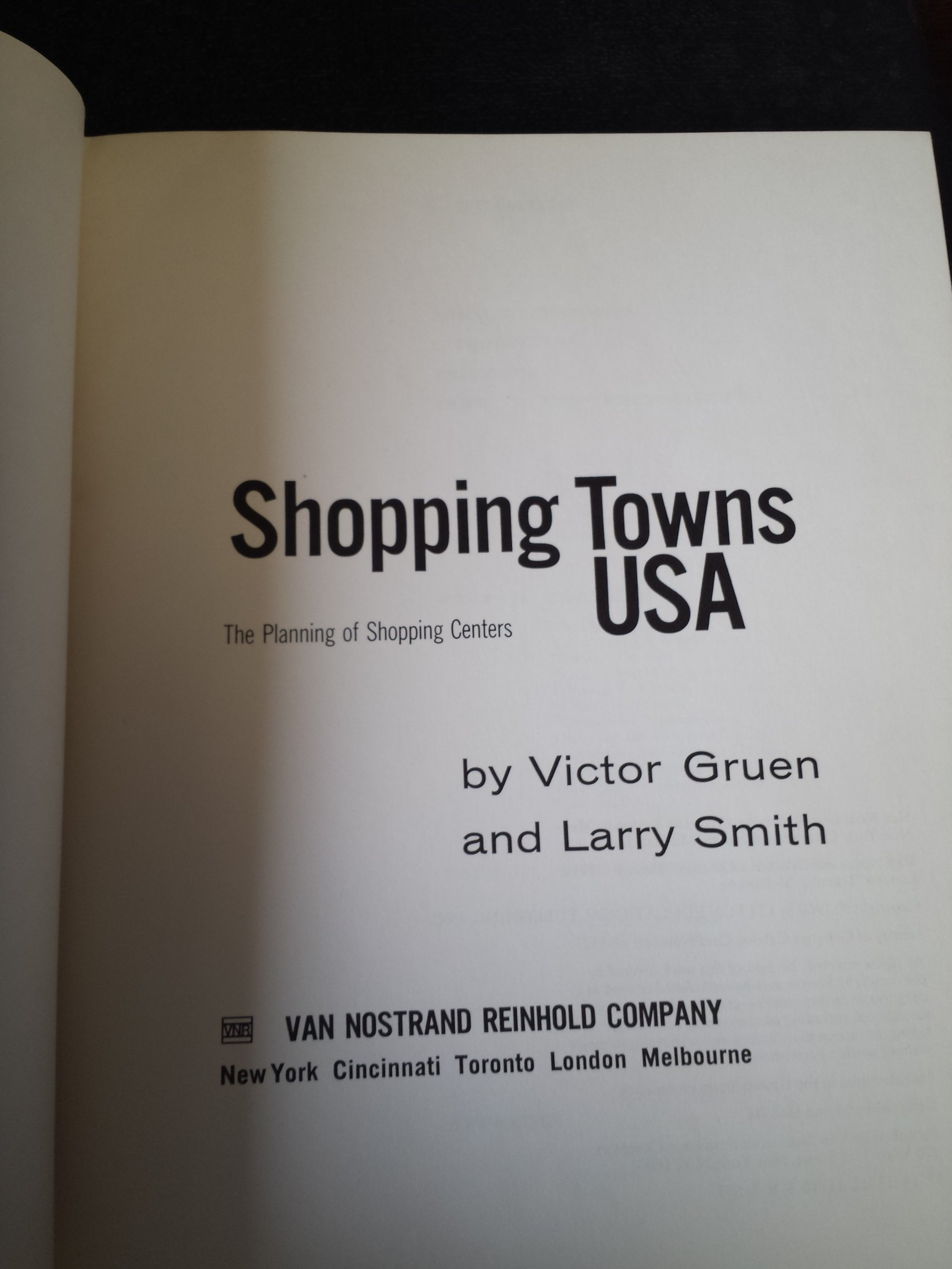 Shopping Town USA: The Planning of Shopping Centers: Victor Gruen ...
