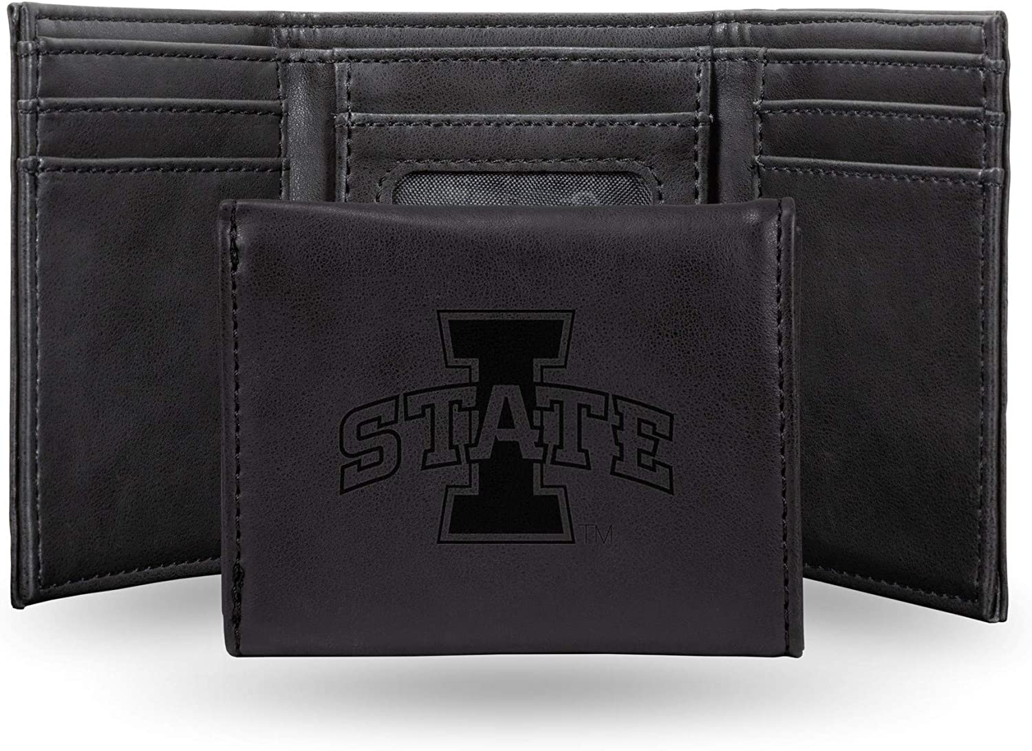 NCAA Rico Industries Laser Engraved Trifold Wallet Iowa State Cyclones