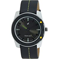 Fastrack Essentials Analog Grey Dial Men's Watch -NK3015AL02