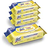 Lysol Disinfectant Handi-Pack Wipes, Multi-Surface Antibacterial Cleaning Wipes, For Disinfecting and Cleaning, Lemon and Lim