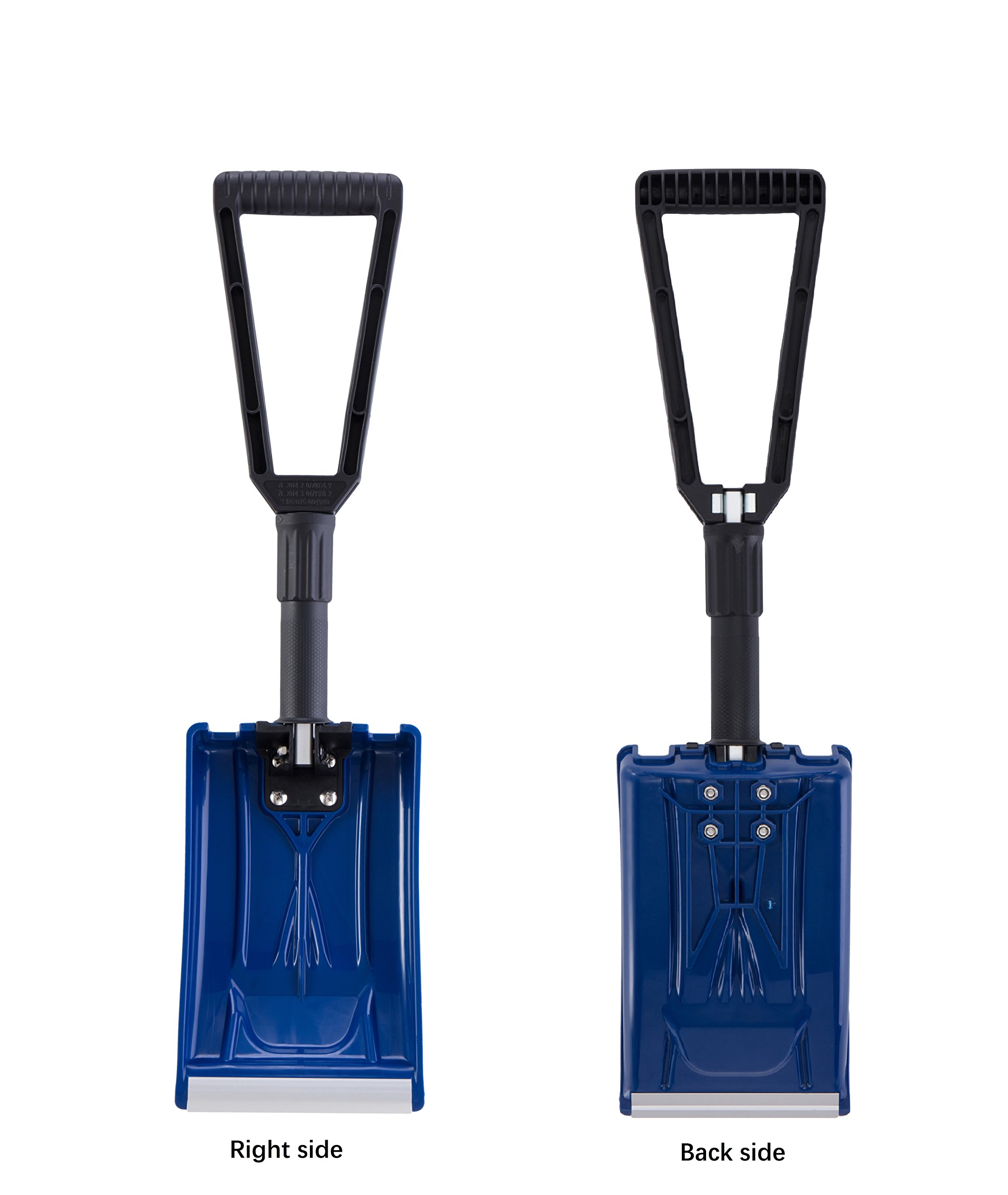 ORIENTOOLS Collapsible Folding Snow Shovel with Durable Aluminum Edge Blade (Blade 6'') by ORIENTOOLS (Image #5)