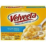 Velveeta Shells & Cheese with Milk (12oz Boxes, Pack of 6)