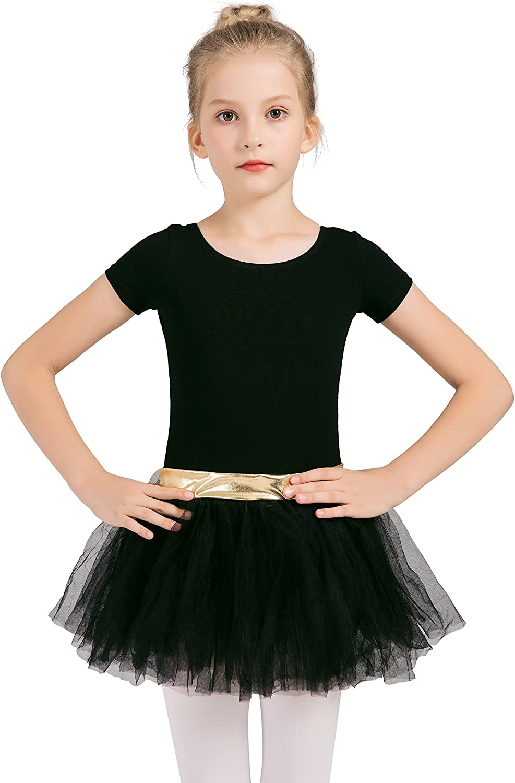 YRD TECH Baby Girl Dress Tutu Leotard Dance Gymnastics Strap