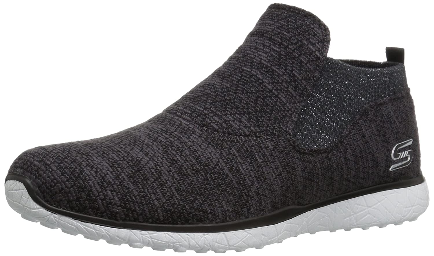 Skechers Sport Women's Microburst Supersonic Fashion Sneaker B01LY508UD 9.5 B(M) US|Black/White