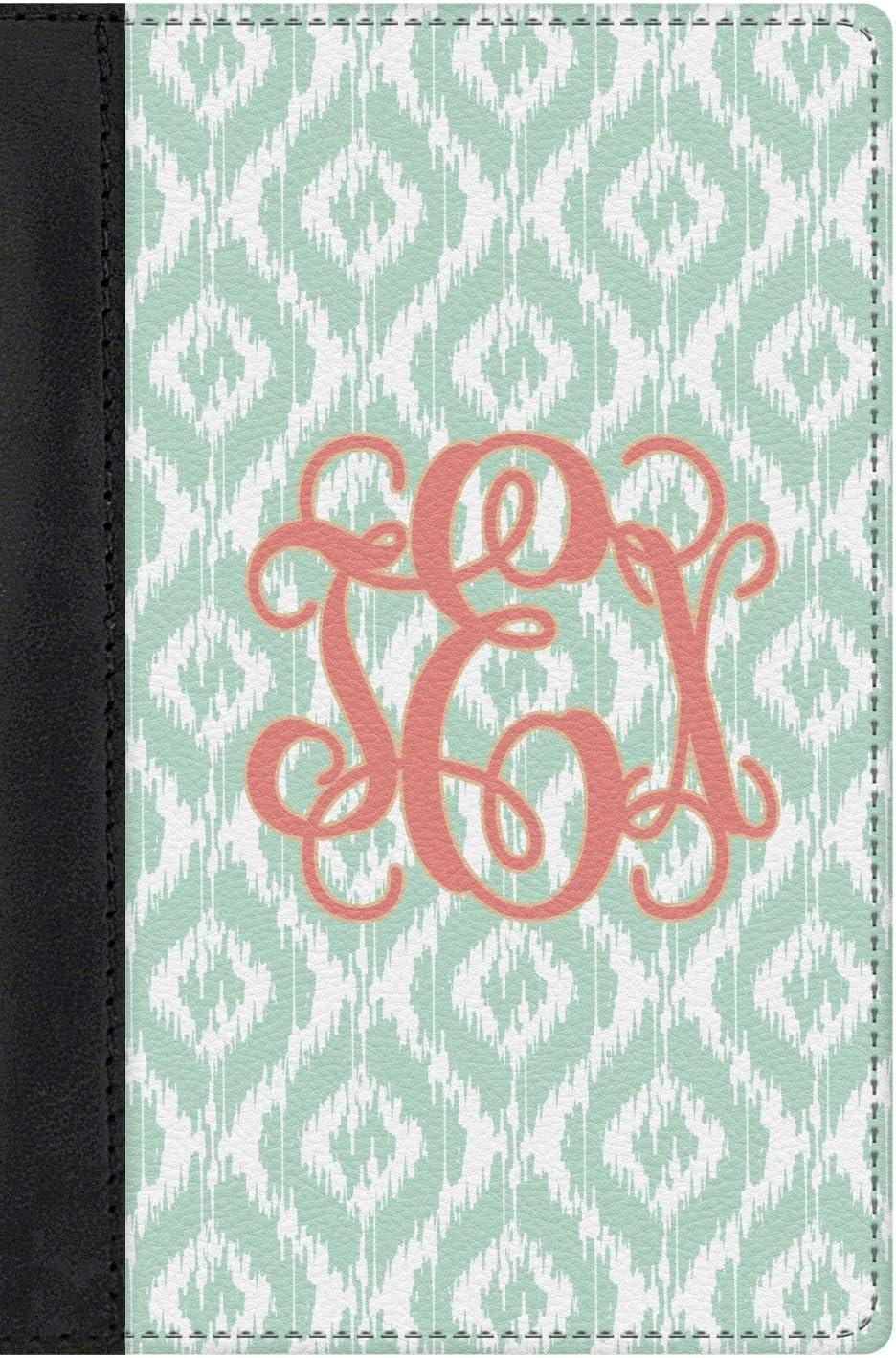 Personalized Monogram Genuine Leather Passport Cover