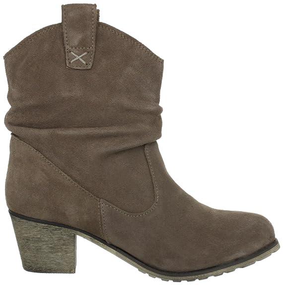 Andrea Conti 1124167, Damen Halbschaft Cowboystiefel: Amazon.de: Schuhe &  Handtaschen