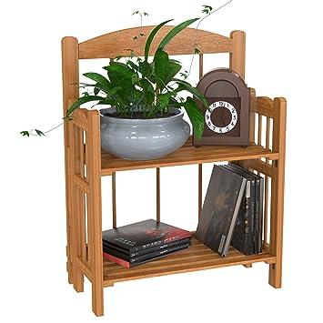 Lavish Home baldas - estantería para Libros, Acabado de Cedro: Amazon.es: Hogar