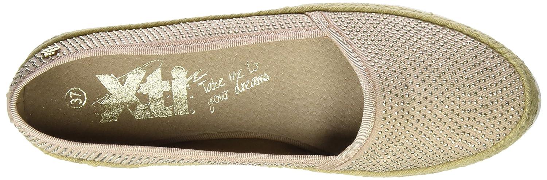 XTI - Alpargatas, Mujer, Beige (Nude), 36: Amazon.es: Zapatos y complementos