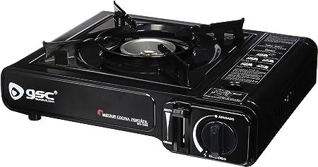 GSC 34394 - Cocina portátil de Gas: Amazon.es: Deportes y ...