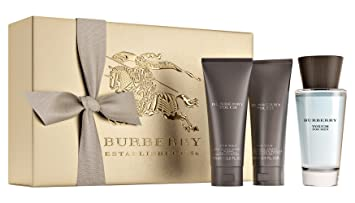 0813ea5d117 BURBERRY Touch for Men Eau de Toilette Gift Set (3.3 oz + Alcohol Free  Aftershave