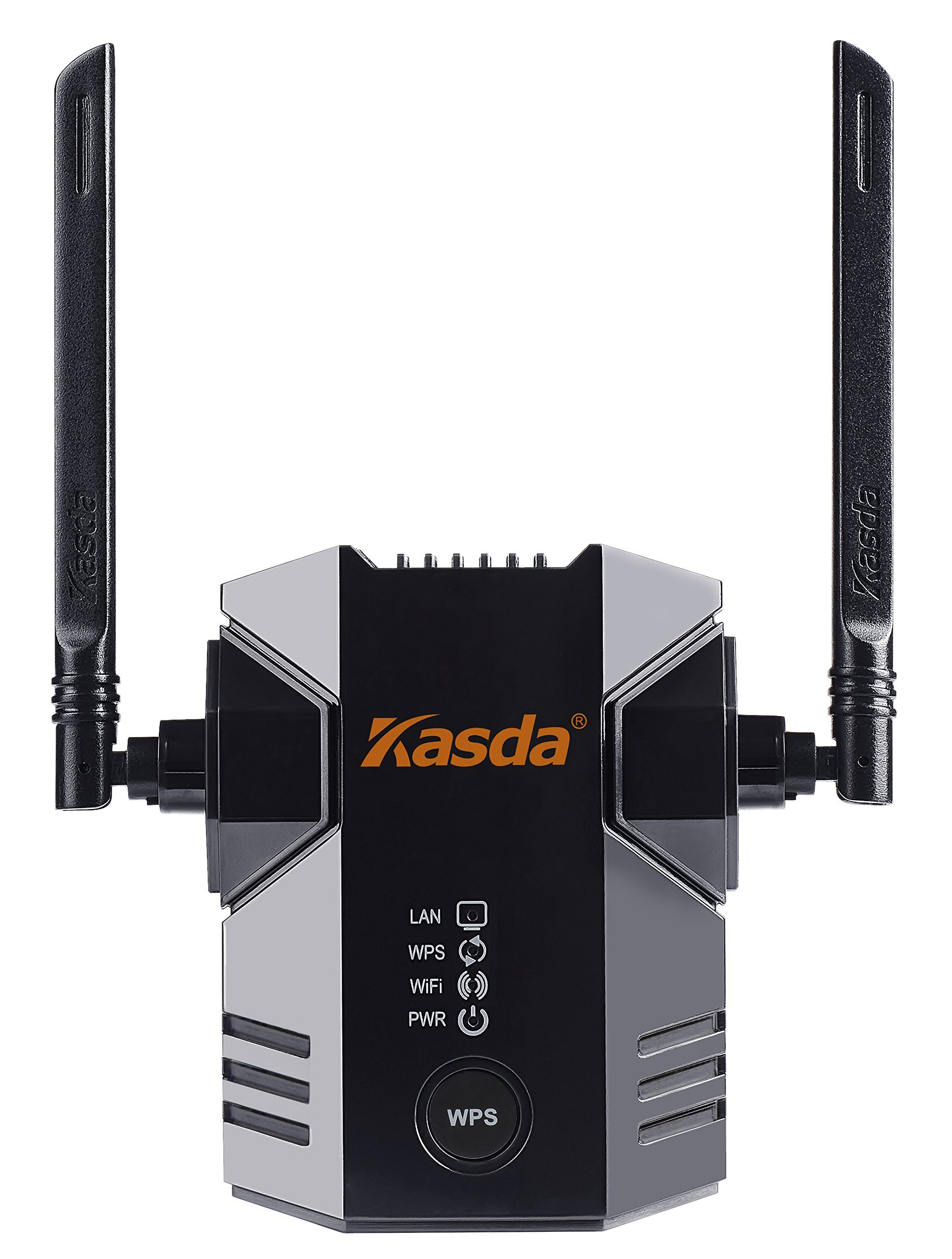 Kasda KW5583 11N WiFi Range Extender 300Mbps with 2 External Antennas WiFi Booster WiFi Repeater
