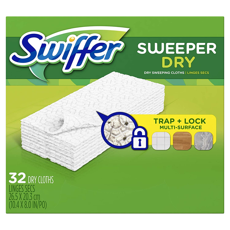 Swiffer Refill Dry Cloths, 32/BX, Sold as 1 Box by Swiffer: Amazon.es: Electrónica