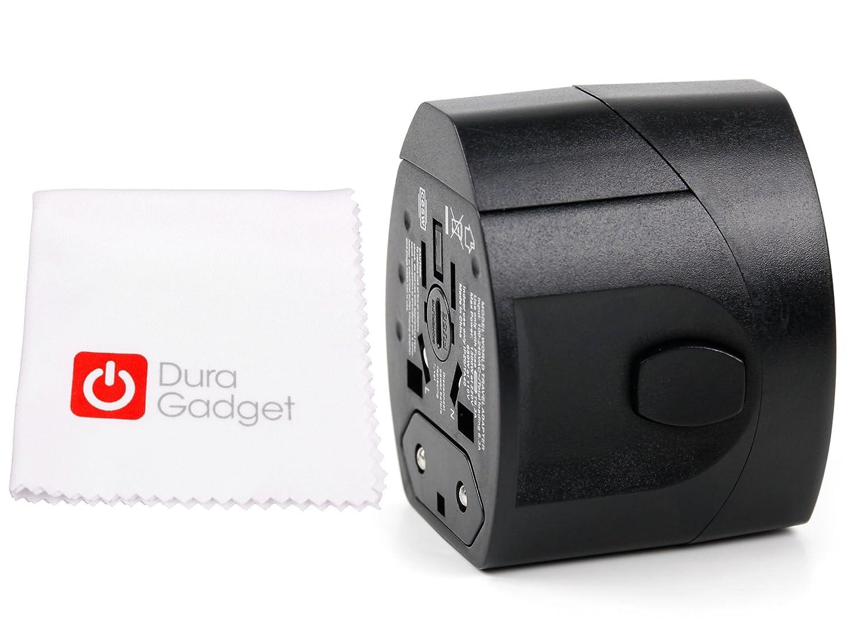 Prostock-Cargador de coche para GPS Garmin Montana 610, 680, 680T GO40, TomTom, ajustada con visera curvada 5000 nm y 6000-Toma de cargador 4 en 1 (Europe, ...