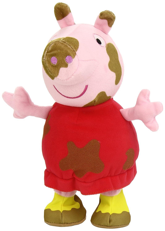 Peppa Pig - Saltarina, Peluche (Bandai 84358)