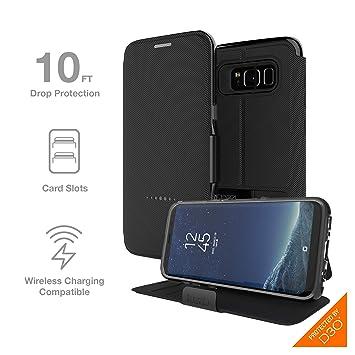 official photos 64a22 9f5e8 Gear4 Folio Case for Samsung Galaxy S8 Black