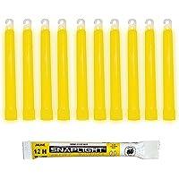 Cyalume CM-4MZB-7TBR - Barras de luz amarillo SnapLight