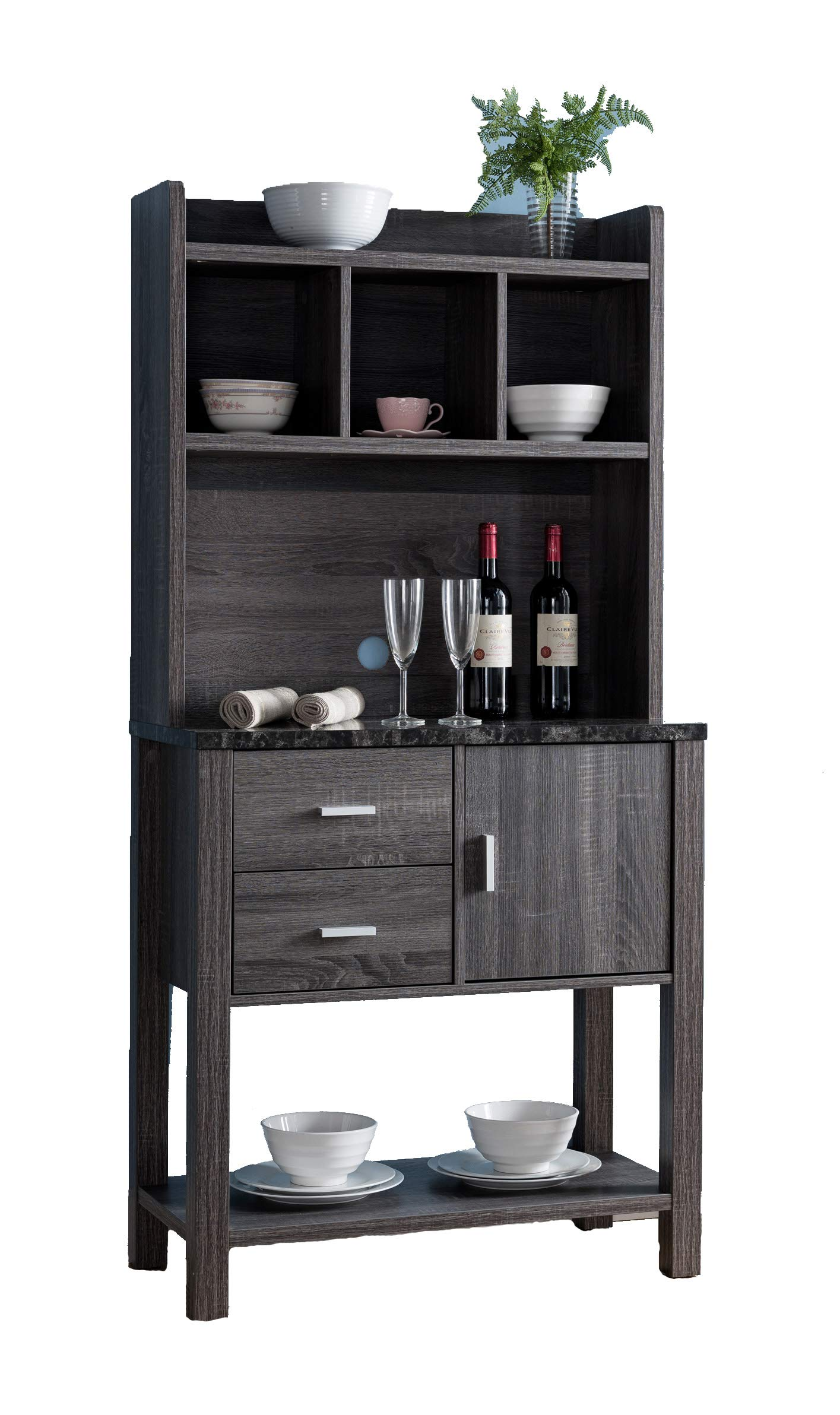 Smart home 161891 Baker's Rack (Two-Tone Finish) by Smart home (Image #4)