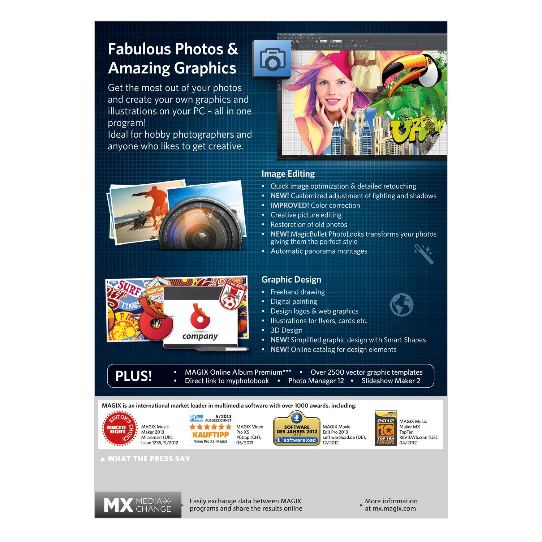 Amazon MAGIX Xara & Graphic Designer 10 Software