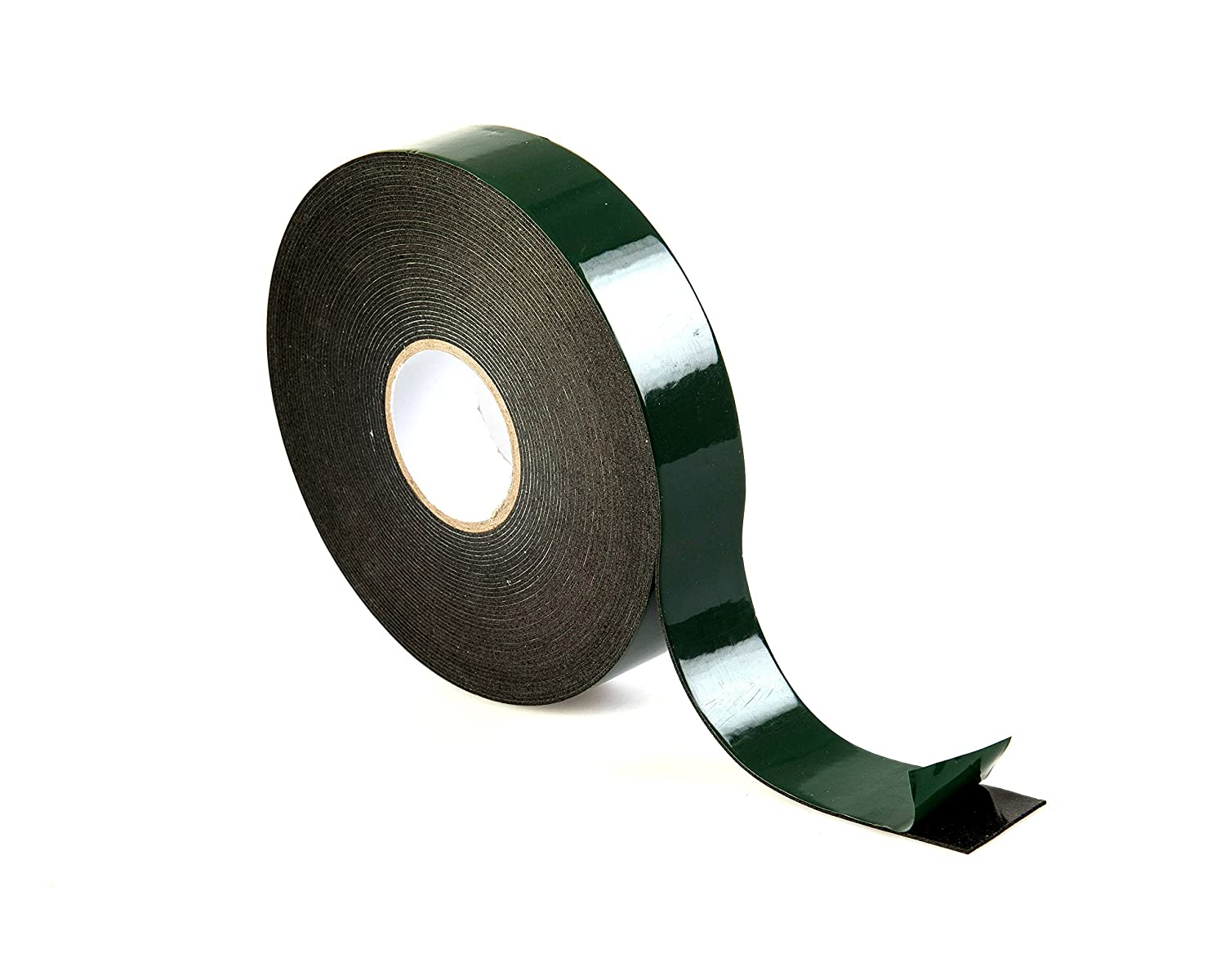 Black Double Sided Foam Tape - 10m x 19mm (3/4') - High Quality Premium Roll by Gocableties