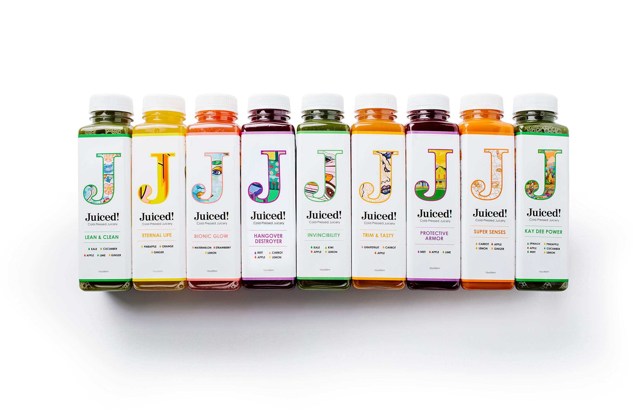 3-Day Cold-Pressed Juiced! Cleanse