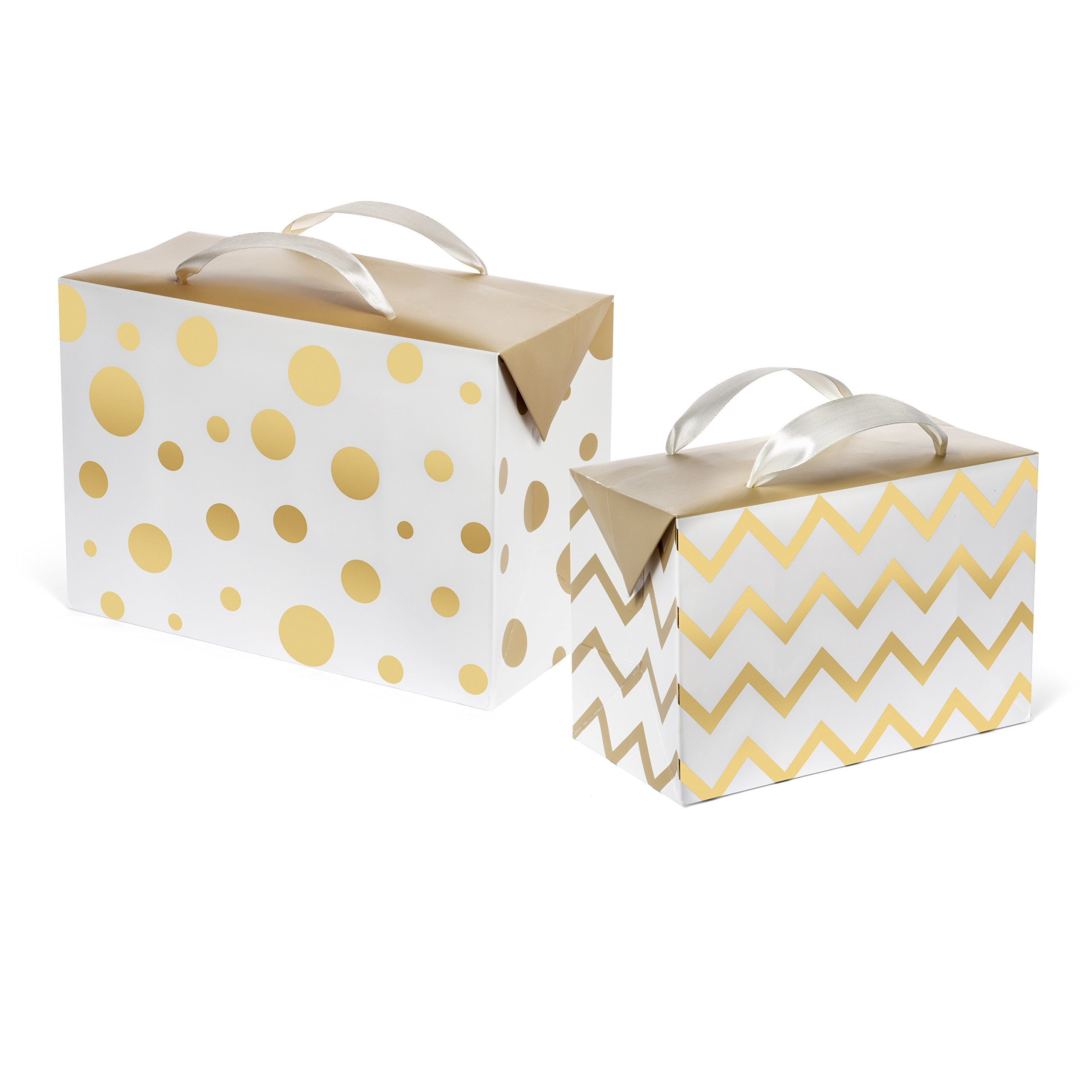 Amazon.com: Set of 10 Colored Gift Boxes (9x4.5x4.5\