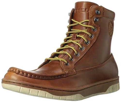 b3f5c41badf Amazon.com: Diesel Men's Club Tatra Combat Boot: Shoes