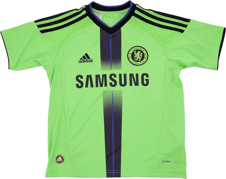 adidas para niños Camiseta de fútbol Chelsea FC 3, Azul/Dark na ...
