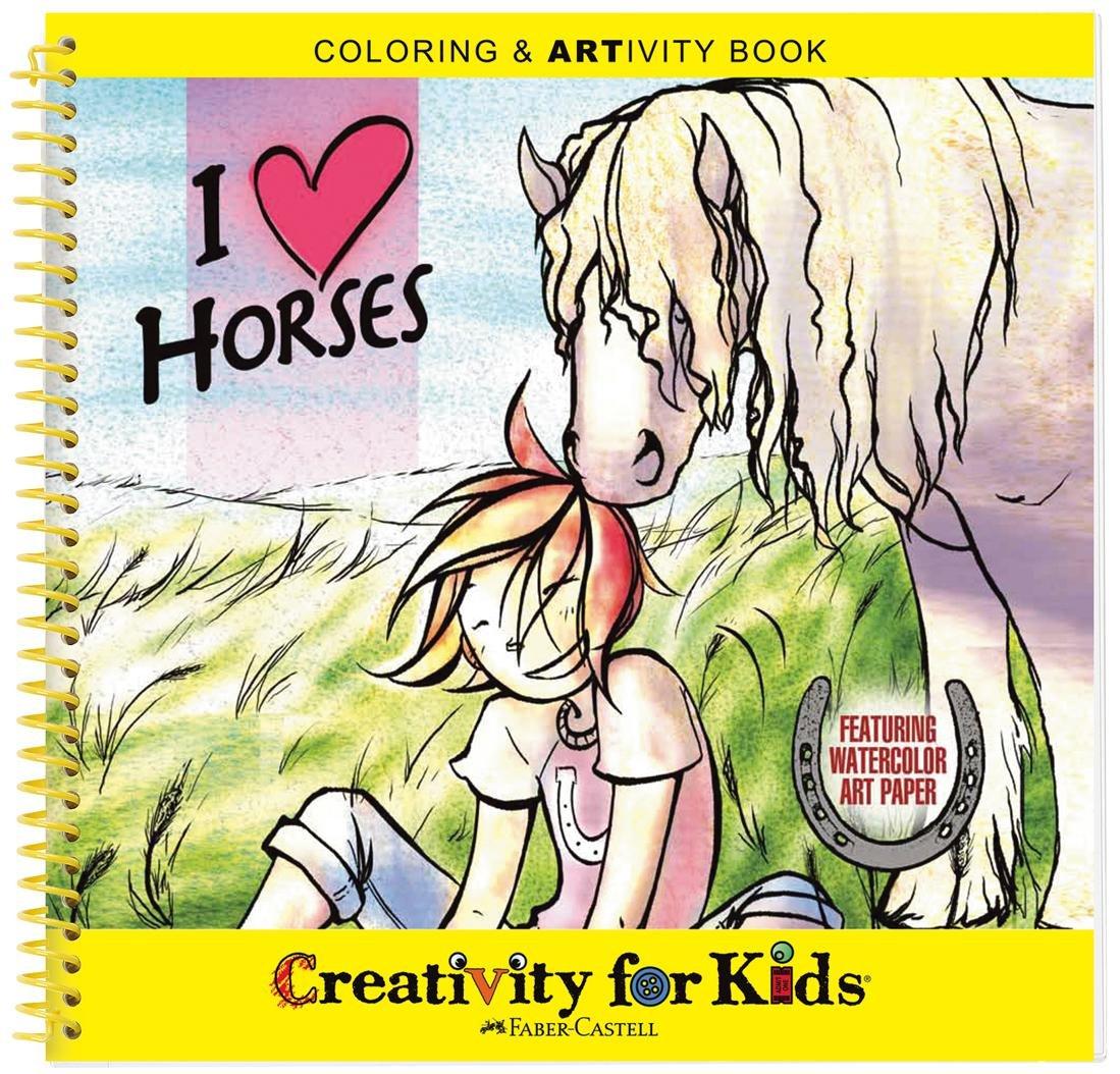 amazon com faber castell creativity for kids coloring u0026 artivity