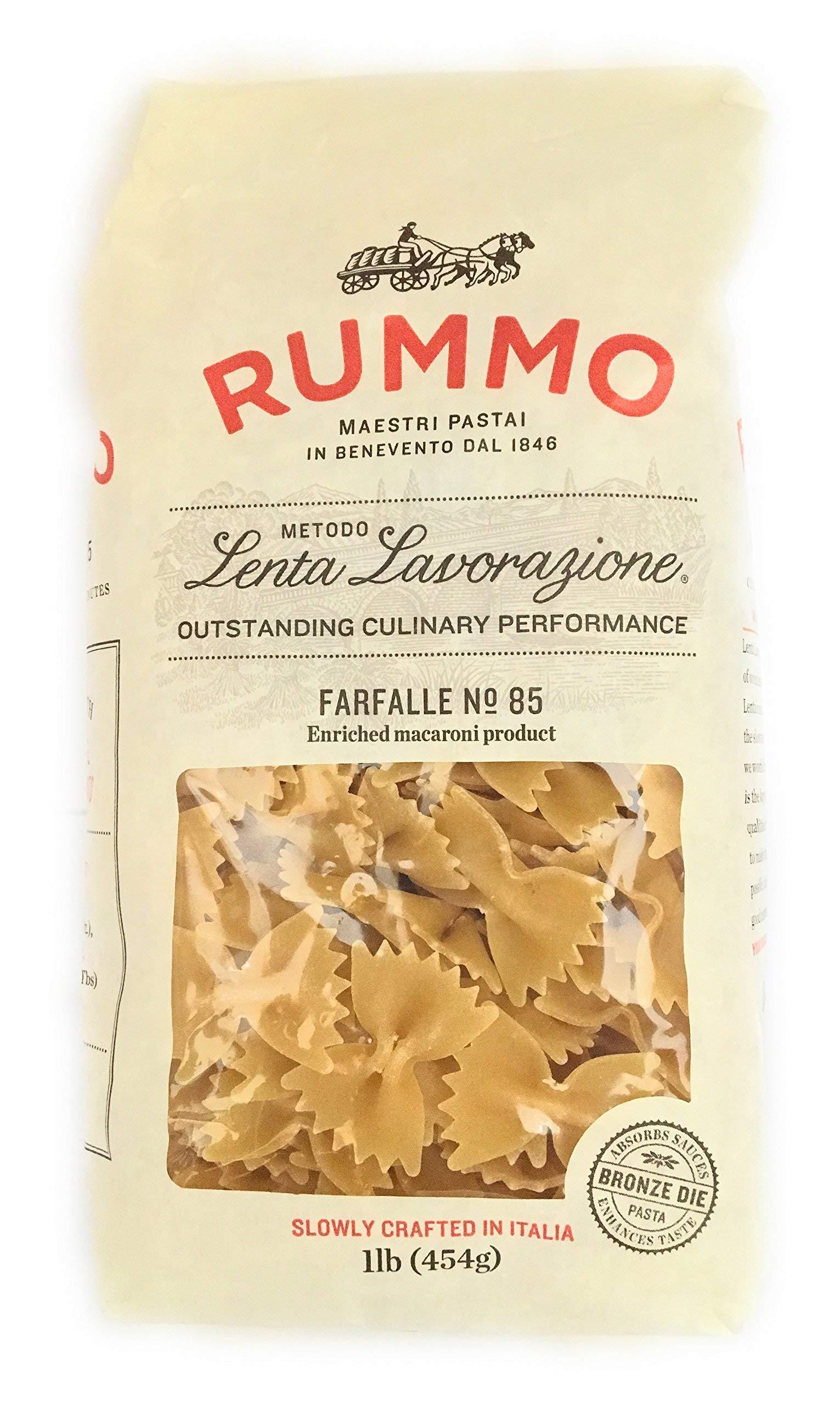 Rummo, Pasta Farfalle, 16 Ounce