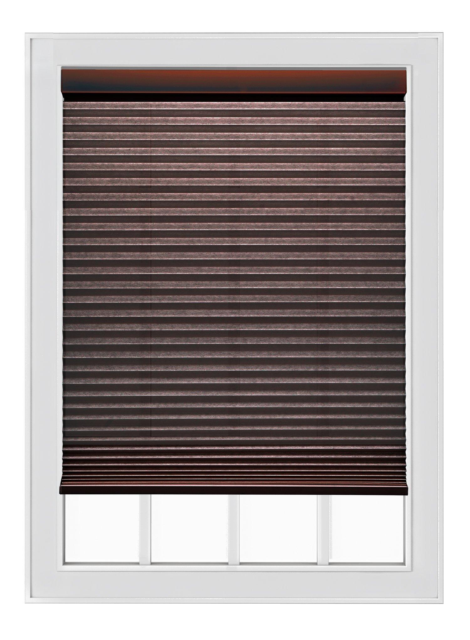 Mio Cocoa Cordless Single Cell 9/16'' Cellular Shade, 35'' x 84''