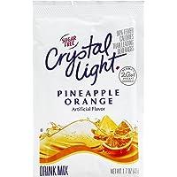 Crystal Light (Makes 2-Gallon) Sugar-Free Citrus Pineapple Orange Drink Mix, 1.7 oz. (Pack of 4)