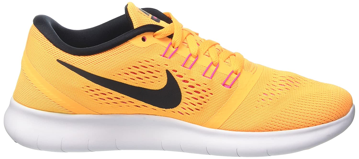 cdfca1e310e17 ... store amazon nike womens free rn running trainers 831509 sneakers shoes  us 8 laser orange black