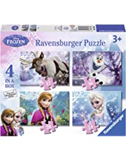 Ravensburger Disney Frozen 4 in Box (12, 16, 20, 24pc) Jigsaw Puzzles