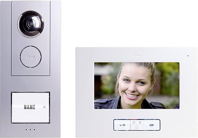 Video-Türsprechanlage Kabelgebunden Komplett-Set m-e modern ...