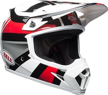 Bell Marauder adulto MX-9 todoterreno casco – blanco/negro/rojo