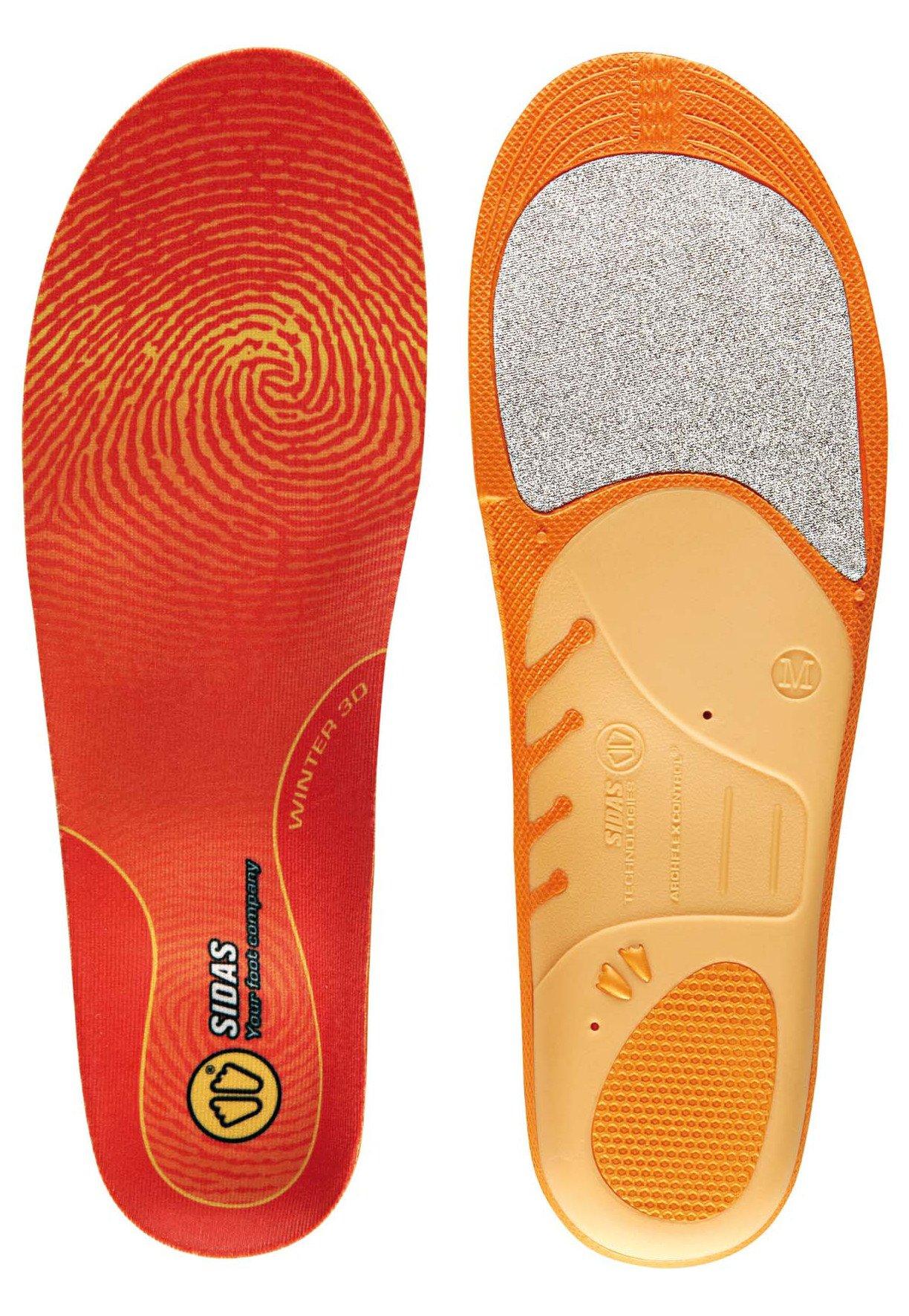 Sidas Winter 3D Insole Orange Orange - Orange Size:S by Sidas