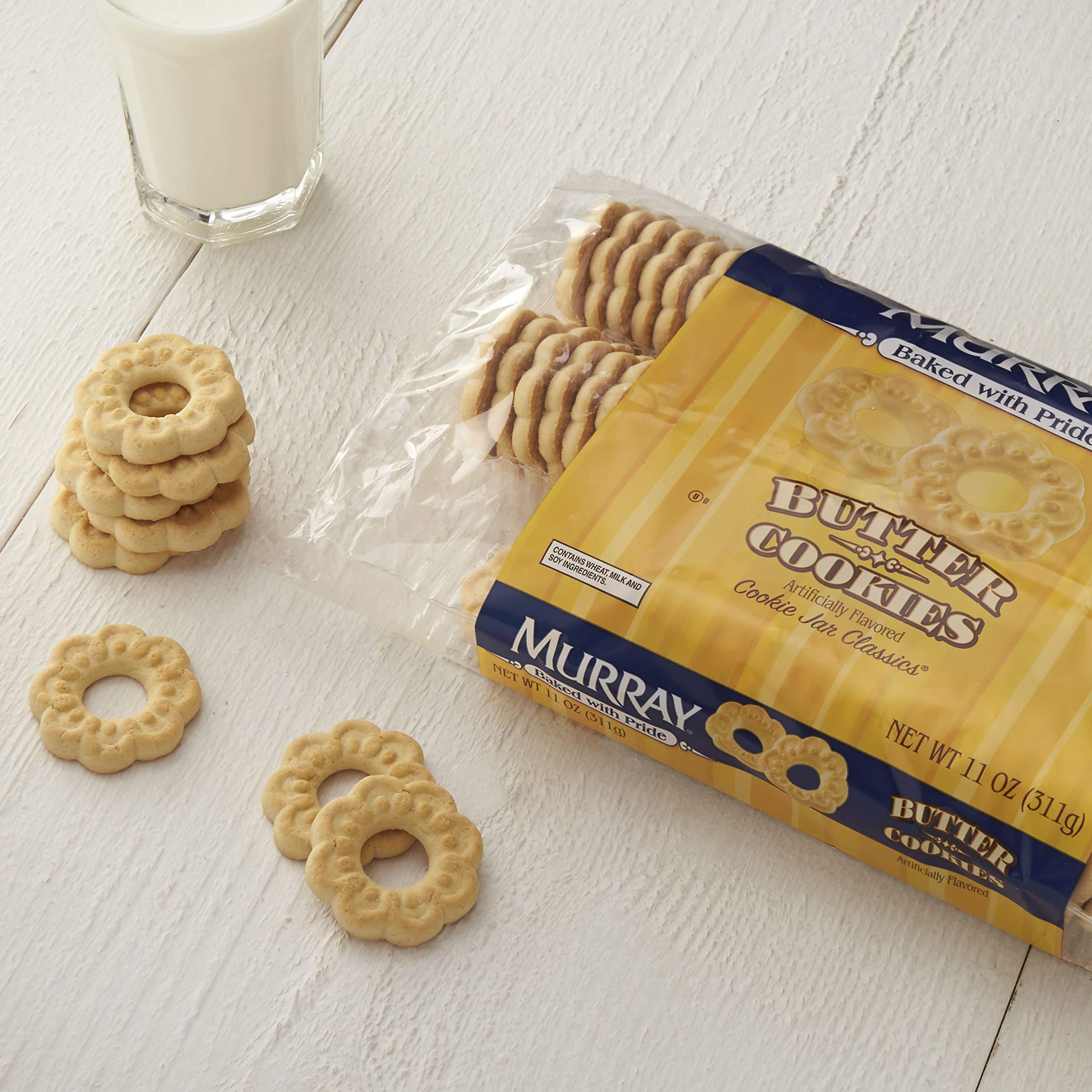 Murray Cookies, Butter, 11 oz Tray by Murray (Image #4)