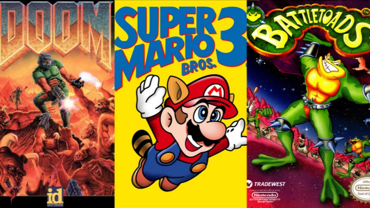Top 10 Retro Video Game Boxart
