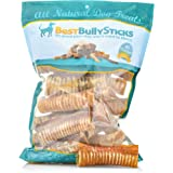 100% Natural Beef Trachea Dog Chews by Best Bully Sticks