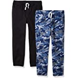 Amazon Essentials Boys' Pull-On Woven Jogger Pants