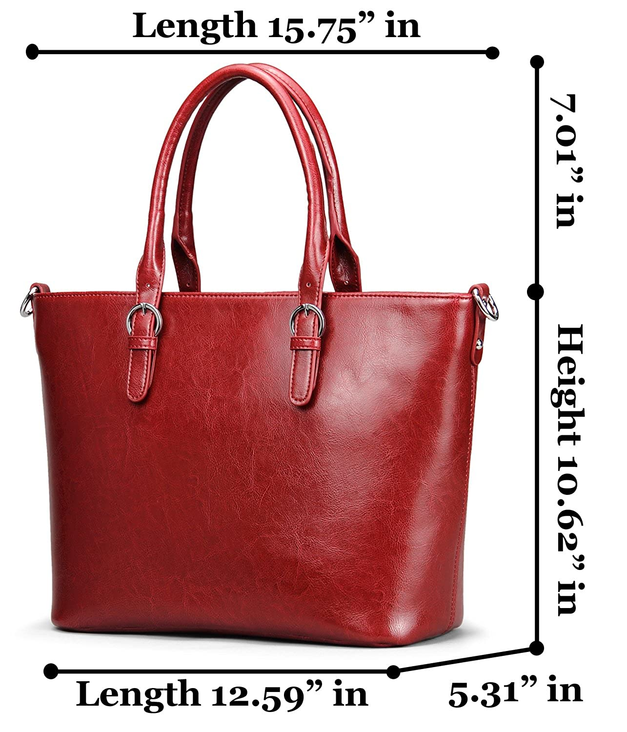 a237172ee8f On Clearance Heshe Womens Handbag Leather Shoulder Cross Body Tote Bags  Satchel Handbags and Purses for ladies