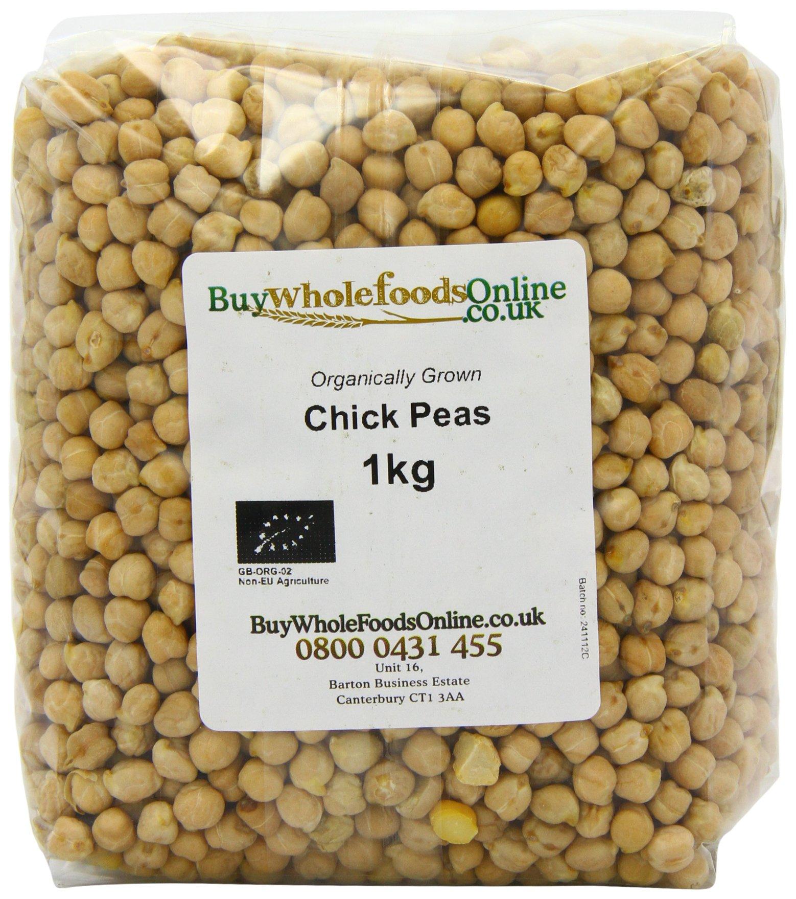 Buy Whole Foods Organic Chick Peas 1 Kg