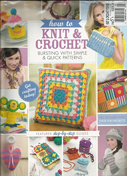 Amazon How To Knit Crochet For Beg 2014 No1 Learn To Knit