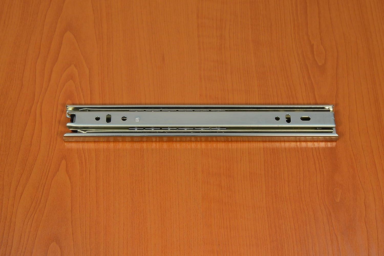 GTV 35 mm Vollauszug Vollausz/üge Teleskopschiene Schubladenschiene/ 35-69cm