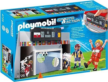 Playmobil Fútbol - Juego de puntería con Marcador electrónico ...