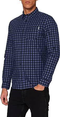 Jack & Jones Jcobarrie Shirt LS Plain Camisa para Hombre